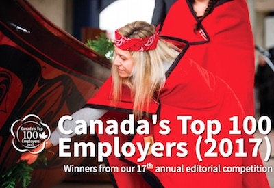 5 Industry Members Among Canada's Top 100 Employers