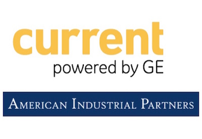 Logos for GE's Current and American Industrial Partners