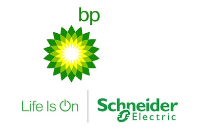 BP and Schneider Electric