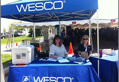 Wesco Booth